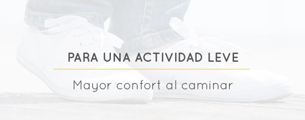 Plantillas acomodativas personalizadas para el dolor de pies.
