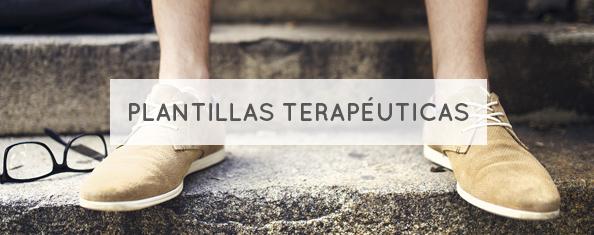 Plantillas terapétucias para pies