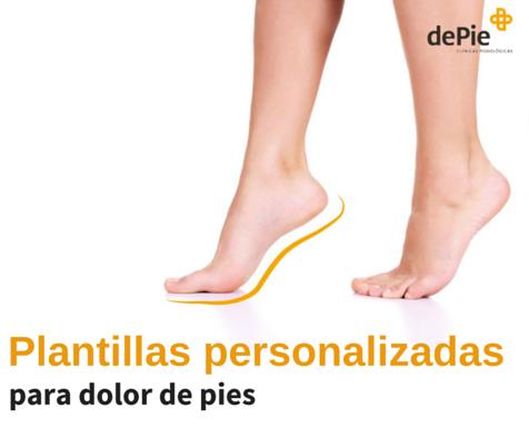 Plantillas personalizadas para dolor de pies en Valencia