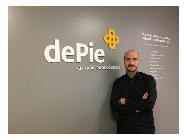 Javier Torralba, doctor en Podología y podólogo en dePie Valencia.