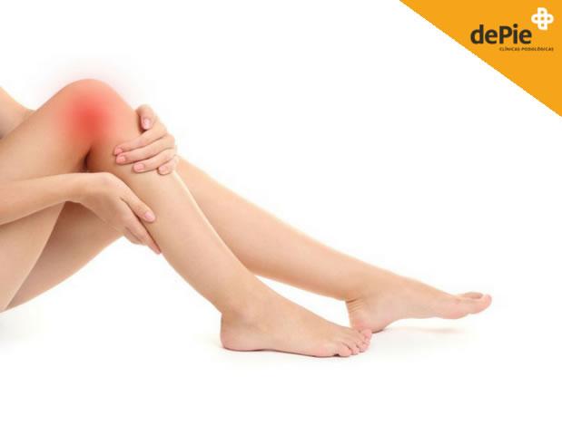 Dolor de rodilla y pies, ¿están relacionados?