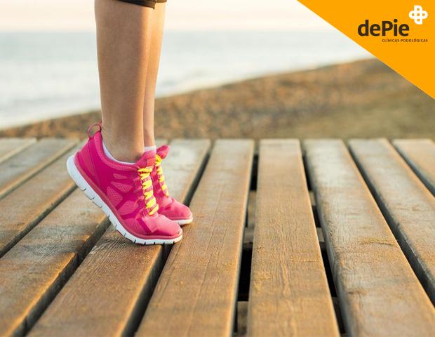 Lesiones más comunes en los pies del deportista.