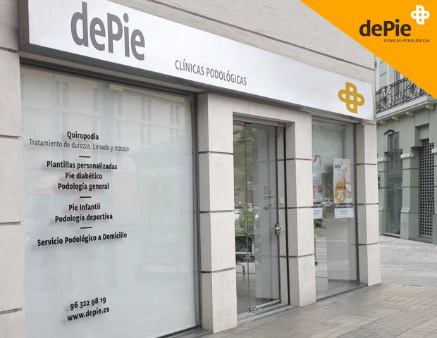 dePie, tu clínica del pie en Valencia y Castellón