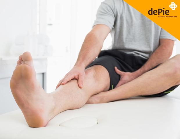 dolor de piernas y su origen en los pies