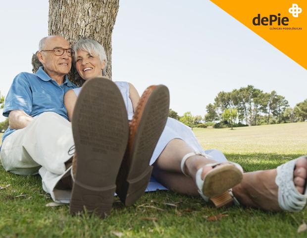 cuidado del pie en las personas mayores