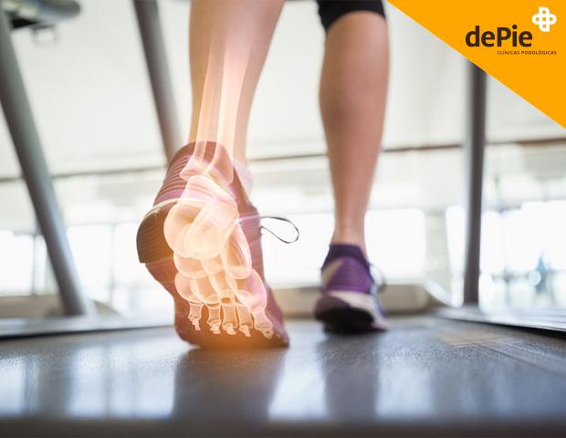 huesos del pie: lesiones más comunes