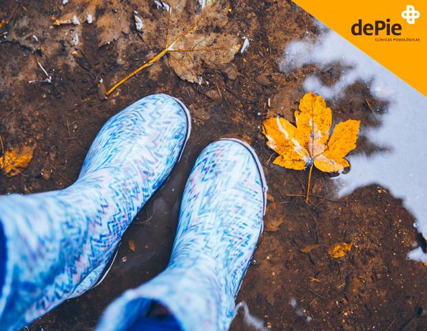 proteger tus pies del frío y la lluvia