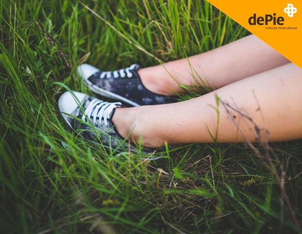 pies sanos y cuidados en primavera