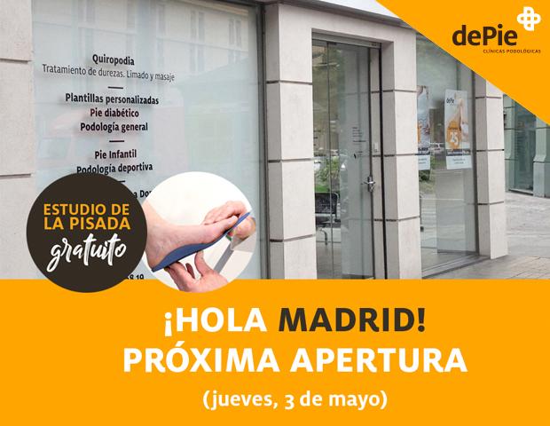 clinica de podologia en Madrid