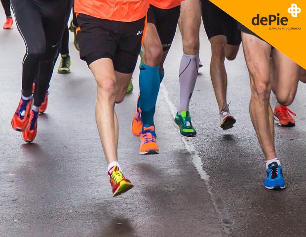 Cuida tus pies después del Maratón